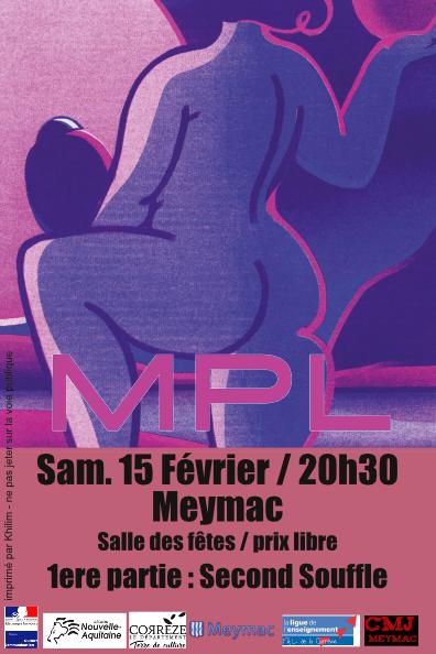 Concert de MPL et Second Souffle