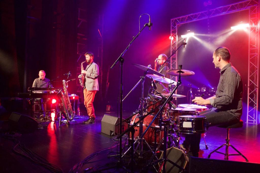 Mox Quartet (Du Bleu En Hiver)