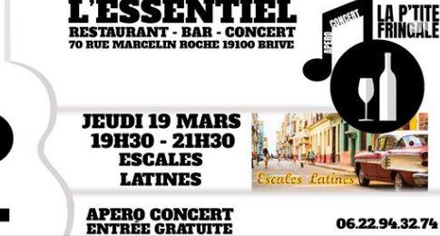 Escales Latines - Apero Concert